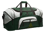 Large Don't Tread on Me Duffle Bag Green
