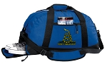 Don't Tread on Me Duffel Bag with Shoe Pocket Blue