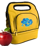 DOLPHINS Lunch Bag 2 Section Gold