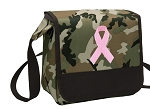Pink Ribbon Lunch Bag Cooler Camo