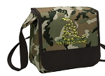 Don't Tread on Me Lunch Bag Cooler Camo