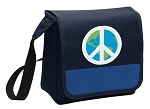 Peace Sign Lunch Bag Tote