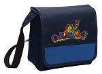Peace Frogs Lunch Bag Tote