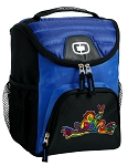 Peace Frogs Best Lunch Bag Cooler Blue