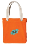 Christian Tote Bag RICH COTTON CANVAS Orange