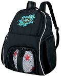 Christian Soccer Backpack or Christian Theme Volleyball Bag for Boys or Girls