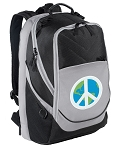 Peace Sign Laptop Backpack
