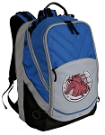 Horse Deluxe Laptop Backpack Blue