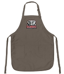 Official University of Alabama Logo Apron Tan
