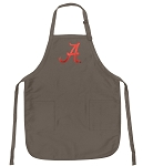 Official Alabama Logo Apron Tan