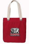 Alabama Tote Bag RICH COTTON CANVAS Red