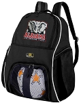 Alabama Soccer Backpack or University of Alabama Volleyball Bag For Boys or Girls