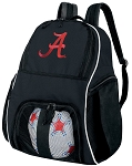 University of Alabama Soccer Backpack or Alabama Volleyball Bag For Boys or Girls
