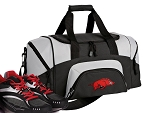 Small University of Arkansas Gym Bag or Small Arkansas Razorbacks Duffel