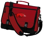 Arkansas Razorbacks Messenger Bag Red