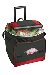 University of Arkansas Rolling Cooler Bag Red
