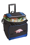 University of Arkansas Rolling Cooler Bag Blue