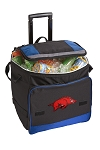 Arkansas Razorbacks Rolling Cooler Bag Blue