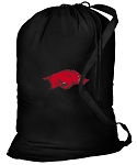 Arkansas Razorbacks Laundry Bag Black