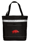 Arkansas Razorbacks Insulated Tote Bag Black