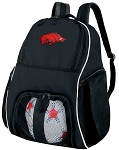 University of Arkansas Soccer Backpack or Arkansas Razorbacks Volleyball Bag For Boys or Girls