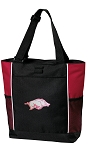University of Arkansas Tote Bag Red