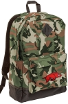Arkansas Razorbacks Camo Backpack