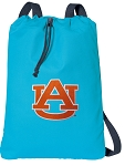 Auburn Cotton Drawstring Bag Backpacks Blue