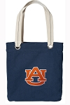 Auburn Tote Bag RICH COTTON CANVAS Navy