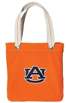 Auburn Tote Bag RICH COTTON CANVAS Orange