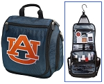 Auburn University Hanging Travel Toiletry Bag or Auburn Shaving Kit Organizer for Him Navy