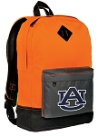Auburn Tigers Backpack HI VISIBILITY Orange Auburn University CLASSIC STYLE