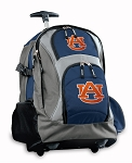 Auburn Rolling Backpack Navy