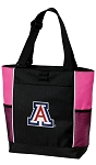 Arizona Wildcats Neon Pink Tote Bag