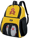 Arizona State Soccer Ball Backpack or ASU Volleyball For Girls or Boys Practice