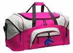 Ladies Boise State University Duffel Bag or Gym Bag for Women
