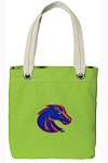 Boise State Tote Bag RICH COTTON CANVAS Green