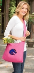 Boise State Tote Bag Sling Style Pink