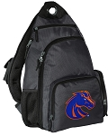 Boise State Backpack Cross Body Style Gray