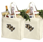 University of Central Florida Shopping Bags UCF Grocery Bags 2 PC SET
