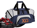 SMALL Chi Omega Gym Bag Chi O Duffle Navy