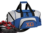 SMALL Chi Omega Gym Bag Chi O Duffle Blue