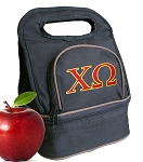 Chi O Lunch Bag Black