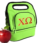 Chi O Lunch Bag Green