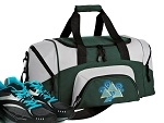 SMALL Tri Delt Gym Bag Tri Delt Sorority Duffle Green