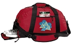 Tri Delt Duffle Bag Red
