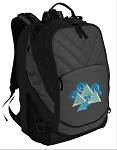 Tri Delt Deluxe Laptop Backpack Black
