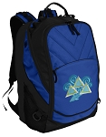 Tri Delt Deluxe Computer Backpack Blue