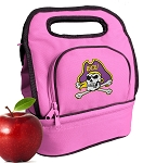 ECU Pirates Lunch Bag Pink