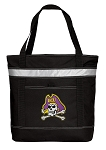 ECU Pirates Insulated Tote Bag Black